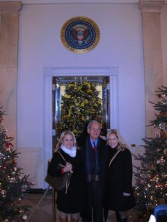 Me, Lu& Dad White House